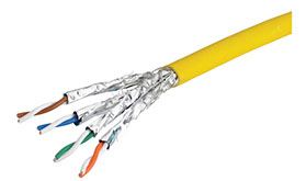 CAT 7a Yellow